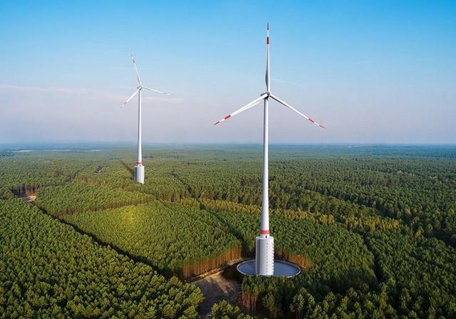 В Німеччині встановлять перші в світі вітро-гідротурбіни